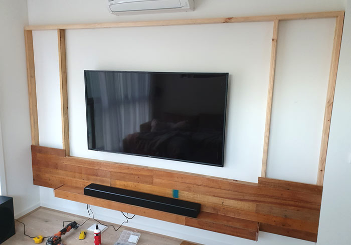 Building A Tv Feature Wall
