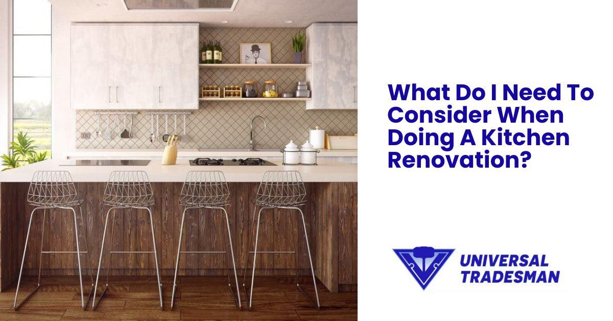 Kitchen Renovation Consider