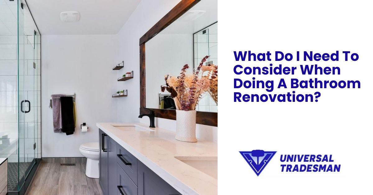 Must Consider Bathroom Renovation