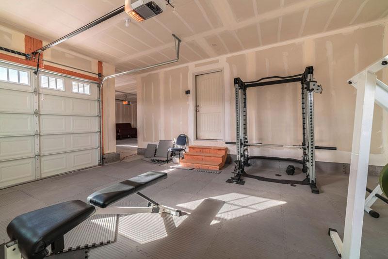 Gym Garage Conversion