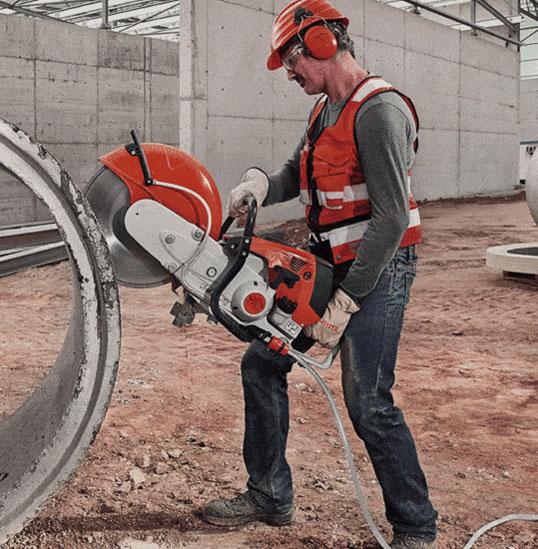 Victoria Cutting Concrete Cement Tube