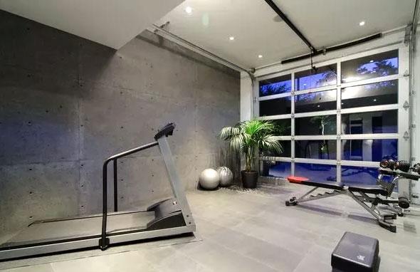 Gym Converrsion Of A Garage