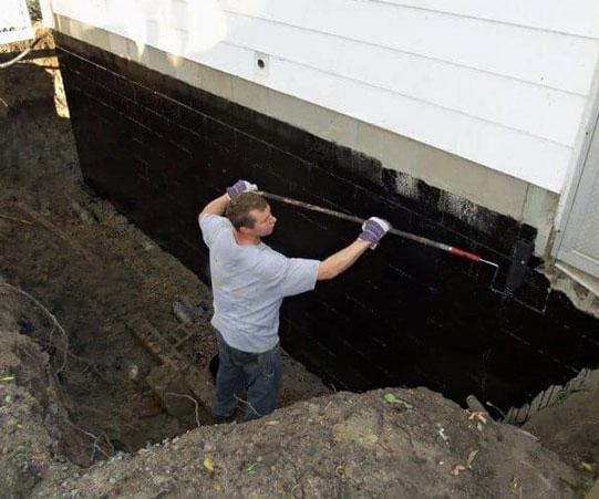 Garage External Waterproofing