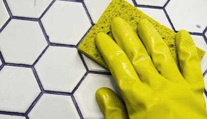 Removing Tile Grout Stains
